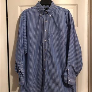Mens Jos A Bank Traveler Collection Shirt 16 33